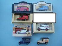 Lledo Days Gone & Promo Models - Fire Engine, Vans & Car lot of 10
