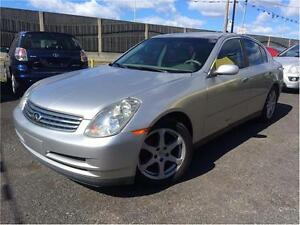 INFINITI G35 2003 Cuir toit ouvrant 3999$