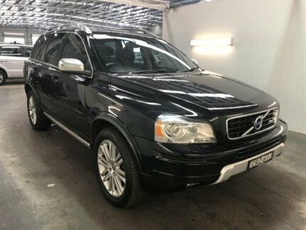 2013 Volvo XC90 MY14 D5 R-Design Black 6 Speed Automatic Geartronic Wagon Beresfield Newcastle Area Preview