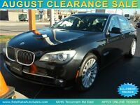 2010 BMW 750Li xDrive Sedan with LEATHER / LOADED / SUNROOF