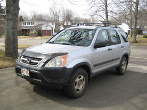 2002 Honda CRV – Fully repaired and ready to go!