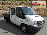 2011 FORD TRANSIT TIPPER DOUBLE CAB 350 LWB 100ps