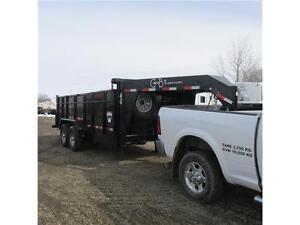 New 2015 C&B 7X16 HD Dump Gooseneck Trailer Edmonton Edmonton Area image 2
