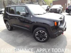 2016 Jeep Renegade Trailhawk 4X4! BACKUP CAM! MOONROOF! CRUISE!
