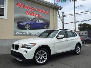 2012 BMW X1 xDrive, AWD, LOADED! ONLY 63KM! $0 DOWN $141 BW!