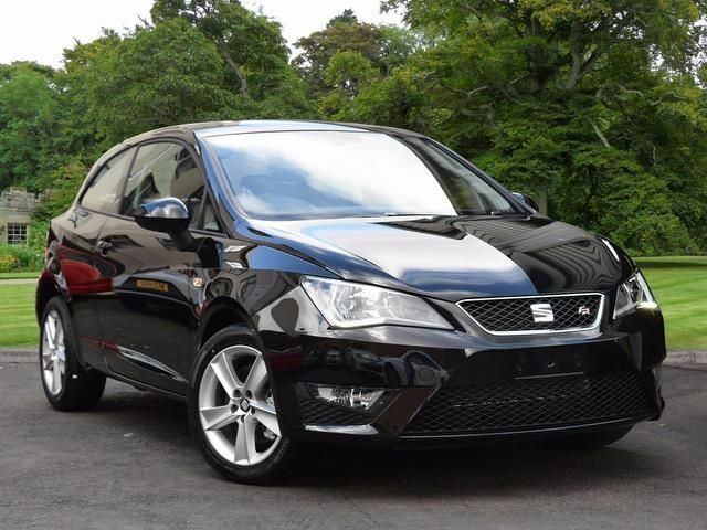 seat ibiza 1 2 tsi fr sportcoupe 3dr black 2016 in castlereagh belfast gumtree. Black Bedroom Furniture Sets. Home Design Ideas