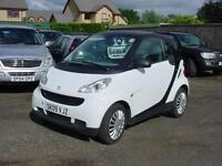 Smart fortwo 1.0 ( 71bhp ) Pure 5 speed(2009)54,000 mls.