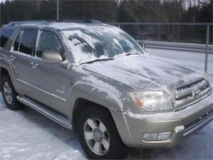 2003 Toyota 4Runner	Limited V8 low mileage