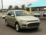 2013 Ford Territory SZ TS (RWD) Green 6 Speed Automatic Wagon Wacol Brisbane South West Preview