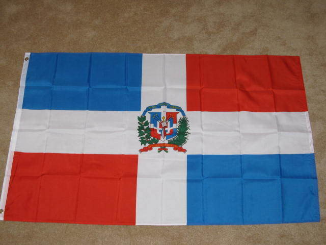 3X5 DOMINICAN REPUBLIC FLAG COUNTRY BANNER NEW F112