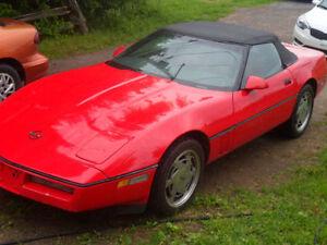 1989 Chevrolet Corvette c4 Cabriolet a vendre ou echange