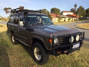 HJ61 Turbo Diesel Toyota LandCruiser VX Manual with Diff Locks Karrinyup Stirling Area Preview