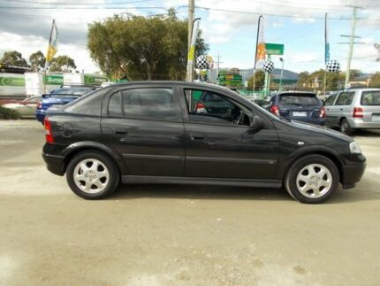 2001 Holden Astra TS CD Black 4 Speed Automatic Hatchback Bayswater North Maroondah Area Preview