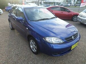2008 Holden Viva JF MY08 Upgrade Blue 4 Speed Automatic Hatchback Sylvania Sutherland Area Preview