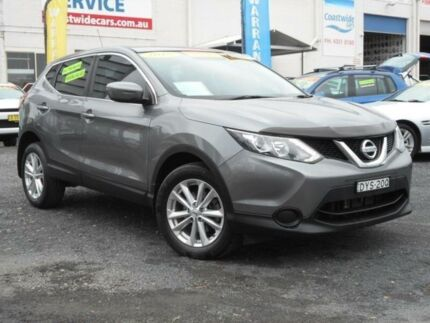 2015 Nissan Qashqai J11 ST Grey Continuous Variable Wagon Tuggerah Wyong Area Preview