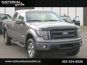 2013 FORD F-150 FX4 ECO-BOOST SUPERCREW