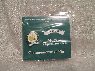 1999 Augusta National Masters Tournament Commemorative Pin Jose Maria Olazabal