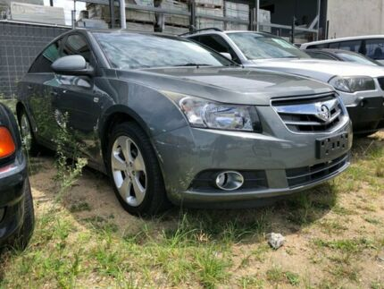 2010 Holden Cruze JG CDX Grey 6 Speed Automatic Sedan Clontarf Redcliffe Area Preview