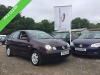 2003 52 VOLKSWAGEN POLO 1.4 SE 5D 74 BHP PX 2 CLEAR