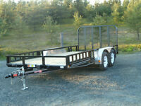 "16'x83"" Channel Utility Trailer"