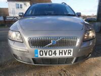 0404 VOLVO V50 2.4 170 BHP AUTOMATIC G/T SE TOURING/ESTATE 82K FSH
