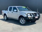 2012 Nissan Navara D40 S5 MY12 ST-X 550 Silver 7 Speed Sports Automatic Utility Bungalow Cairns City Preview