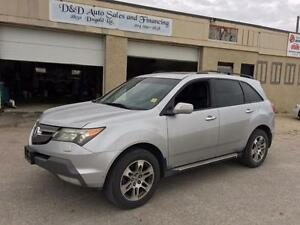 2007 Acura MDX-AWD-LEATHER-SUNROOF-HTD SEATS-ALLOYS