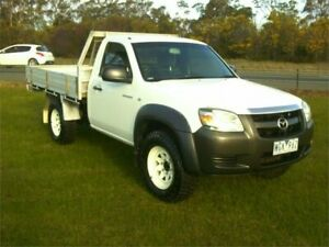 2008 Mazda BT-50 08 Upgrade B3000 DX (4x4) 5 Speed Manual Cab Chassis Traralgon Latrobe Valley Preview