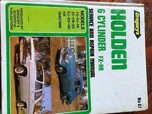 HOLDEN FX-HR series workshop manual Rothwell Redcliffe Area Preview