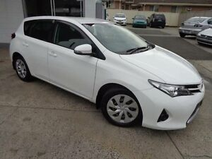 2014 Toyota Corolla ZRE182R Ascent White 7 Speed CVT Auto Sequential Hatchback Sylvania Sutherland Area Preview