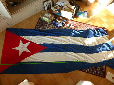 Fahne Kuba  DDR  Ostblock  Baumwolle