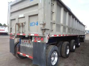 2007 STARGATE 44'FT ALUMINUM 4 AXLE SPIFF END DUMP Kitchener / Waterloo Kitchener Area image 7