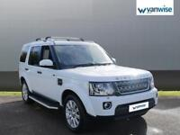 2014 Land Rover Discovery DISCOVERY Diesel white Auto
