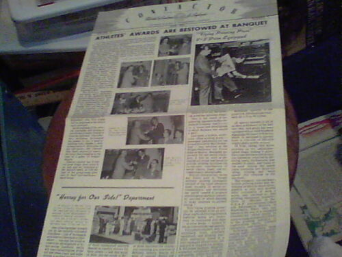 June 1951 Contactor Reliance Electric newsletter Ashtabula Athletes Awards,