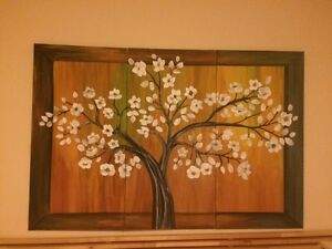 Floral Art - Acrylic Paintings $75-$100