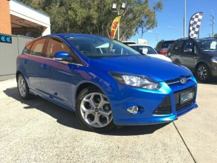 2014 Ford Focus LW MKII MY14 Sport Blue Manual Hatchback