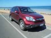 2007 Honda CR-V MY07 (4x4) Ruby Red Pearl 5 Speed Automatic Wagon Albert Park Charles Sturt Area Preview