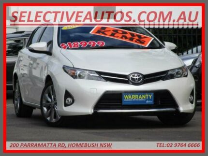 2013 Toyota Corolla ZRE182R Levin SX White 7 Speed CVT Auto Sequential Hatchback