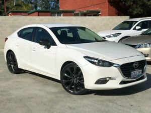 2016 Mazda 3 BN5276 Maxx SKYACTIV-MT White 6 Speed Manual Sedan Palmyra Melville Area Preview