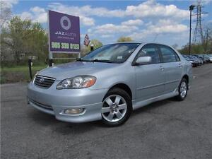 """2005 Toyota Corolla Sport """" CLEAN"""" 4 NEW TIRES INSTALLED W/PRICE"""