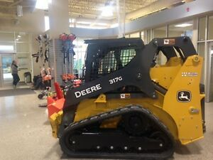 JOHN DEERE 317G NEW 2017 TRACK LOADER 65 HP--CLEARANE SALE