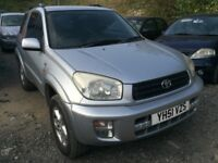 2001 Toyota Rav-4 automatic, starts and drives, does export, clean inside and out, being sold as spa