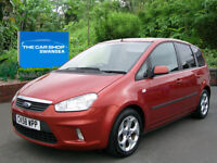 FORD C-MAX 1.6 Zetec TWO OWNERS NICE M.P.V IN THE BEST COLOUR (red) 2009