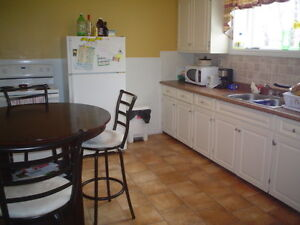 Walk to MUN and downtown! 3-bedroom downstairs apt.!