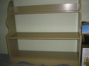 3 shelf bookcase/utility unit