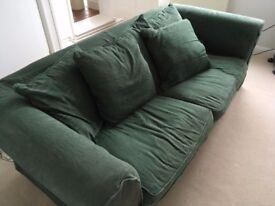 Green John Lewis Sofabed - FREE