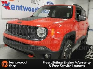 2017 Jeep Renegade TRAILHWK 4WD trail rated in ruby red