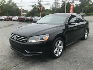 2013 Volkswagen Passat Comfortline LEATHER,SUNROOF,ALLOYS,LOWKMS