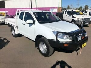 2014 Isuzu D-MAX TF MY15 SX (4x4) White 5 Speed Manual Space Cab Chassis Dubbo Dubbo Area Preview