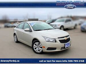 2013 Chevrolet Cruze LOW KMS!!! FREE WINTER TIRES INCLUDED! LT T